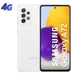 Smartphone Samsung Galaxy A72 8GB/ 256GB/ 6.7'/ Blanco