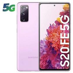 Smartphone Samsung Galaxy S20 FE 8GB/ 256GB/ 6.5'/ 5G/ Lavanda Nube