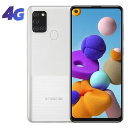 Smartphone Samsung Galaxy A21S 3GB/ 32GB/ 6.5'/ Plata