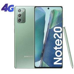 Smartphone Samsung Galaxy Note 20 8GB/ 256GB/ 6.7'/ Verde Místico