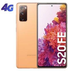 Smartphone Samsung Galaxy S20 FE 6GB/ 128GB/ 6.5'/ Naranja Nube