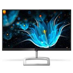Monitor Profesional Philips 246E9QJAB 24'/ Full HD/ Multimedia/ Negro/ Plata