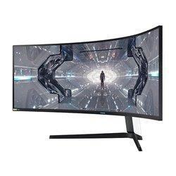 Monitor Ultrapanorámico Curvo Samsung Odyssey G9 49'/ Dual QHD/ Negro