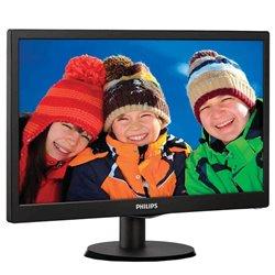 Monitor Philips 193V5LSB2 18.5'/ HD/ Negro