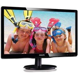 Monitor Philips 200V4LAB2 19.5'/ HD/ Multimedia/ Negro