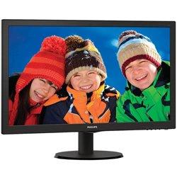 Monitor Philips V-Line 223V5LHSB2 21.5'/ Full HD/ Negro