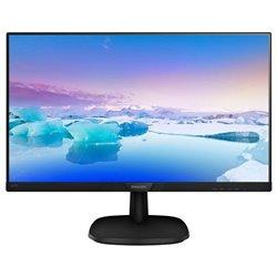 Monitor Philips 243V7QDAB 23.8'/ Full HD/ Multimedia/ Negro