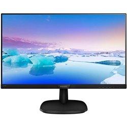 Monitor Philips 243V7QDSB 23.8'/ Full HD/ Negro
