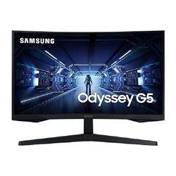 Monitor Gaming Curvo Samsung Odyssey G5 LC27G55TQWR 27'/ WQHD/ Negro