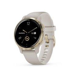 Smartwatch Garmin Venu 2S Notificaciones/ Frecuencia Cardíaca/ GPS/ Oro y Beige