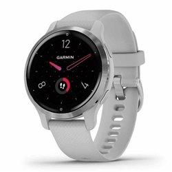 Smartwatch Garmin Venu 2S Notificaciones/ Frecuencia Cardíaca/ GPS/ Plata y Gris