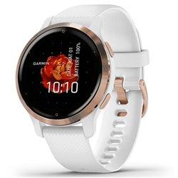 Smartwatch Garmin Venu 2S Notificaciones/ Frecuencia Cardíaca/ GPS/ Oro Rosa y Blanco