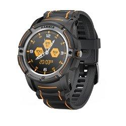 Smartwatch Hammer Watch/ Notificaciones/ Frecuencia Cardíaca/ GPS/ Negro