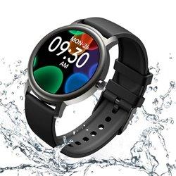 Smartwatch Mibro Air/ Notificaciones/ Frecuencia Cardíaca/ Negro y Plata