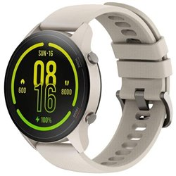 Smartwatch Xiaomi Mi Watch/ Notificaciones/ Frecuencia Cardíaca/ GPS/ Beige