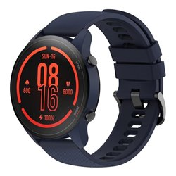 Smartwatch Xiaomi Mi Watch/ Notificaciones/ Frecuencia Cardíaca/ GPS/ Azul