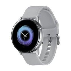 Smartwatch Samsung Galaxy Watch Active/ Notificaciones/ Frecuencia Cardíaca/ GPS/ Plata
