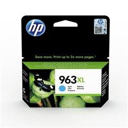Cartucho de Tinta Original HP nº963 XL Alta Capacidad/ Cian