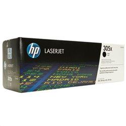 Tóner Original HP nº305X XL Alta Capacidad/ Negro