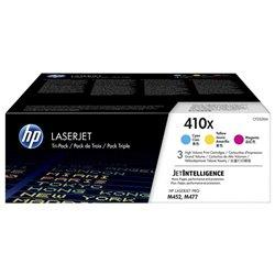 Tóner Original HP nº410X XL Alta Capacidad Multipack/ Cian/ Magenta/ Amarillo