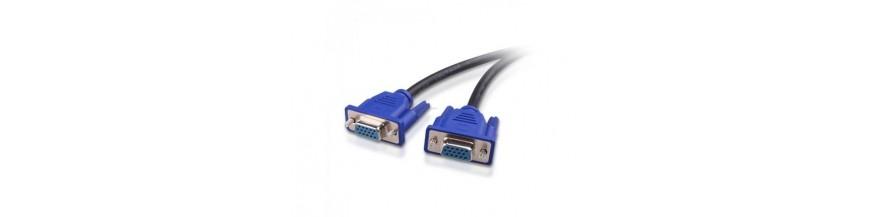 Cables y adaptadores de video para monitores de PC
